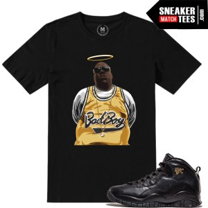 Sneaker tees match Jordan 10 NYC