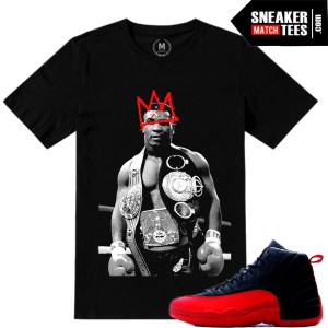 Air Jordan 12 Flu Game Sneaker tees match