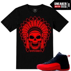 Air Jordan 12 Flu Game matching shirts