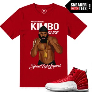 Gym Red 12 Match Sneaker tees