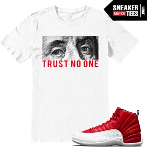 Gym Red 12s shirt match Jordan Retros
