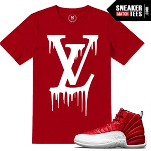Jordan 12 Gym Red T shirts