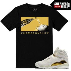 Jordan Championship Pack 8s match sneaker tees