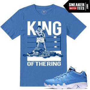 Jordan Retros 9 Pantone Match T shirts