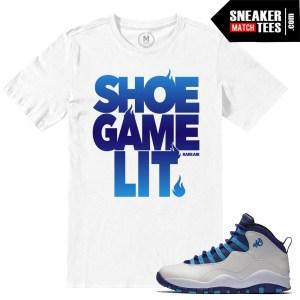 Match Sneaker tees Jordan 10 Hornets