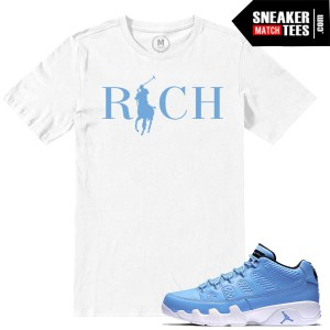 Pantone 9 low Match Sneaker tees shirts