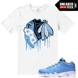 Pantone 9 low Sneaker tees match Jordan Retros