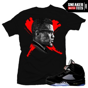 Match Sneaker tees Metallic Black 5