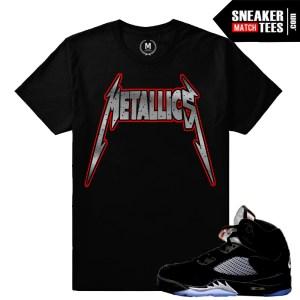 Shirts match Metallic 5 Black OG