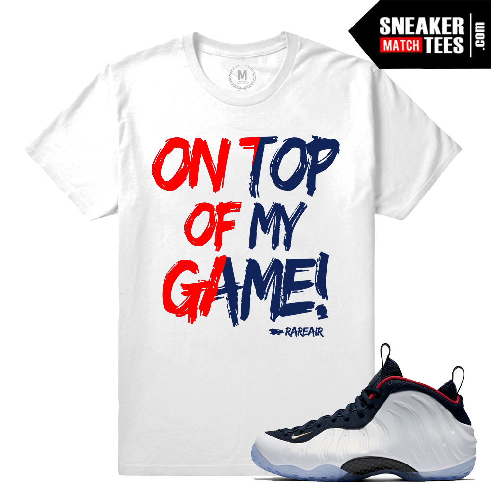6af69ccd74aa3 ... Sneaker clothing match Olympic Foams  Shirts match foamposite wheat  foam wheat ...