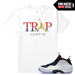 Sneaker shirts match Nike Foams olympic