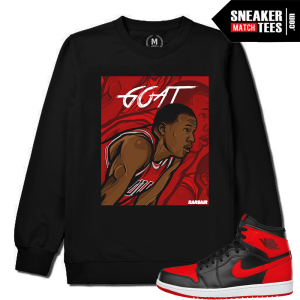 Air Jordan 1 Bred Crewneck Match