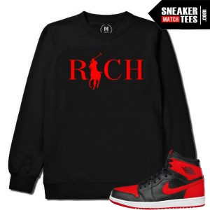 Banned 1s Crewneck Match Bred