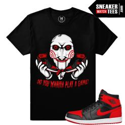 Jordan 1 Banned Sneaker T shirt Match