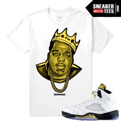 Jordan 5 Olympic Retros t shirt
