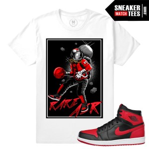 Jordan Banned 1s t shirts match
