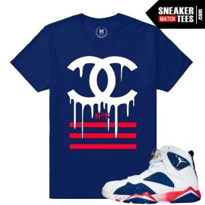 Jordan Retros 7 Tinker Alternate T shirt Match