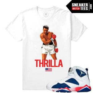 Olympic 7 Jordan Match T shirts