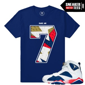 Retro Jordan 7 Tinker Alternate shirt match
