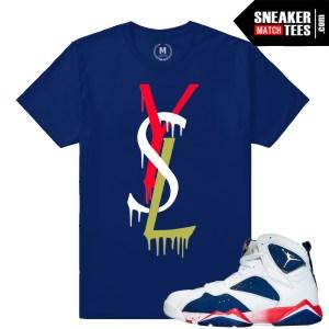 Retro Jordan 7 Tinker Alternate t shirt