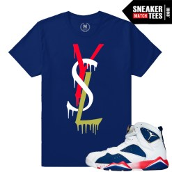 Retro Jordan 7 Tinker Alternate t shirt