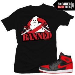 Shirt matching Banned 1 Jordans