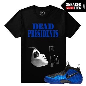 Sneaker Match Cobalt Foams T shirt