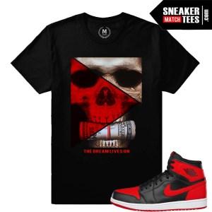 Sneaker match tees Bred 1 Jordans
