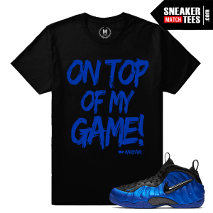 Sneaker tees Match Ben Gordon Foams