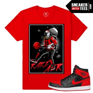 Sneaker tees match Banned 1s