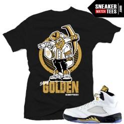 Sneaker tees match Jordan 5 Olympic Retros