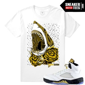 T shirts Jordan Retros Match Olympic 5s