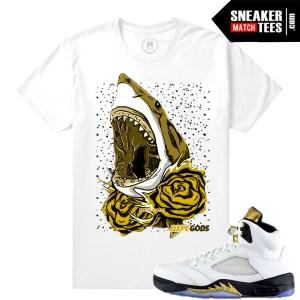 T shirts Jordan Retros Match Olympic 5s