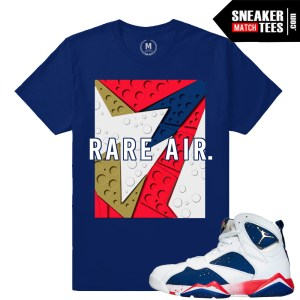 T shirts match Jordan 7 Tinker Alternate