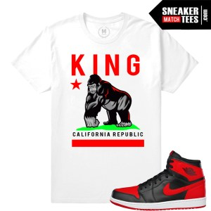 T shrits match Jordan 1 Banned