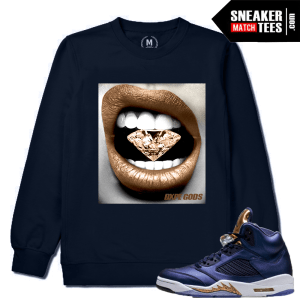 Air Jordan 5 Retro Bronze Match Crewneck Sweater
