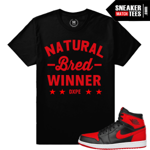 Banned 1 t shirt match Jordan Retro 1s