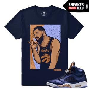 Bronze 5 Matching T shirt Drake 6 God