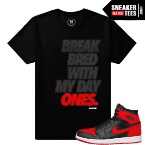 Jordan 1 Banned 1 Matching Shirt