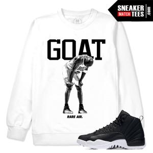 Jordan 12 Neoprene White Crewneck Sweatshirt