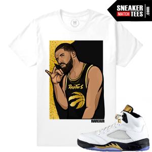Jordan 5 Olympic Matching Sneaker Shirts