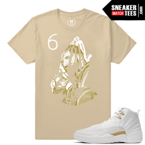 Shirt matching OVO 12s Jordan Retro