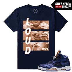 Sneaker Shirts Match Bronze 5 Jordans