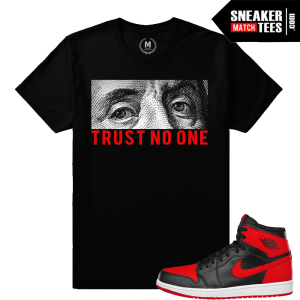Sneaker shirts matching Jordan Retro 1 Banned