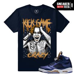 Sneaker T Shirt Matching Jordan 5 Bronze