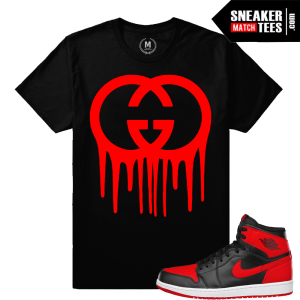 Sneaker tees Match Jordan Retro 1s Banned