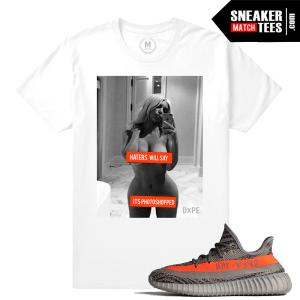 T shirts matching Yeezy Boost 350 V2 Beluga