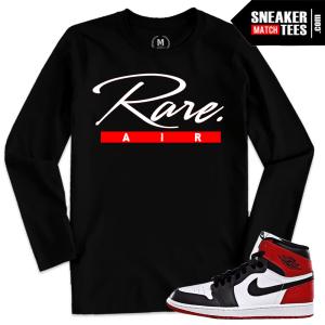 Jordan 1 Black Toe Shirt