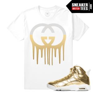 Jordan 6 Pinnacle Gold Shirt