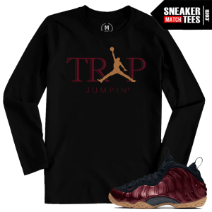 Maroon Foams Matching Trap Jumpin T shirt
